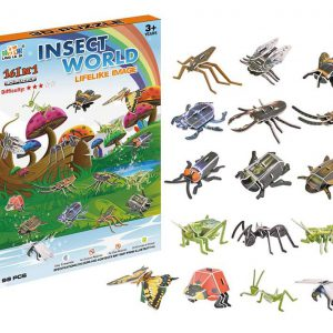 insecten 3d puzzel
